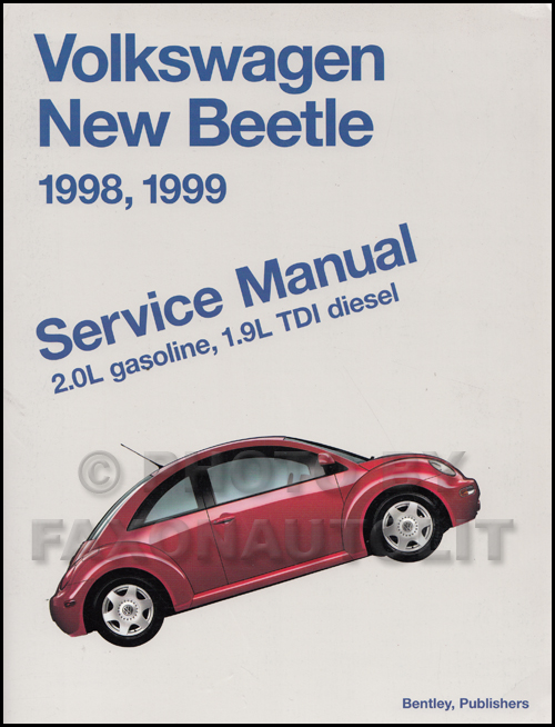 1998-2002 VW New Beetle Bentley Repair Manual