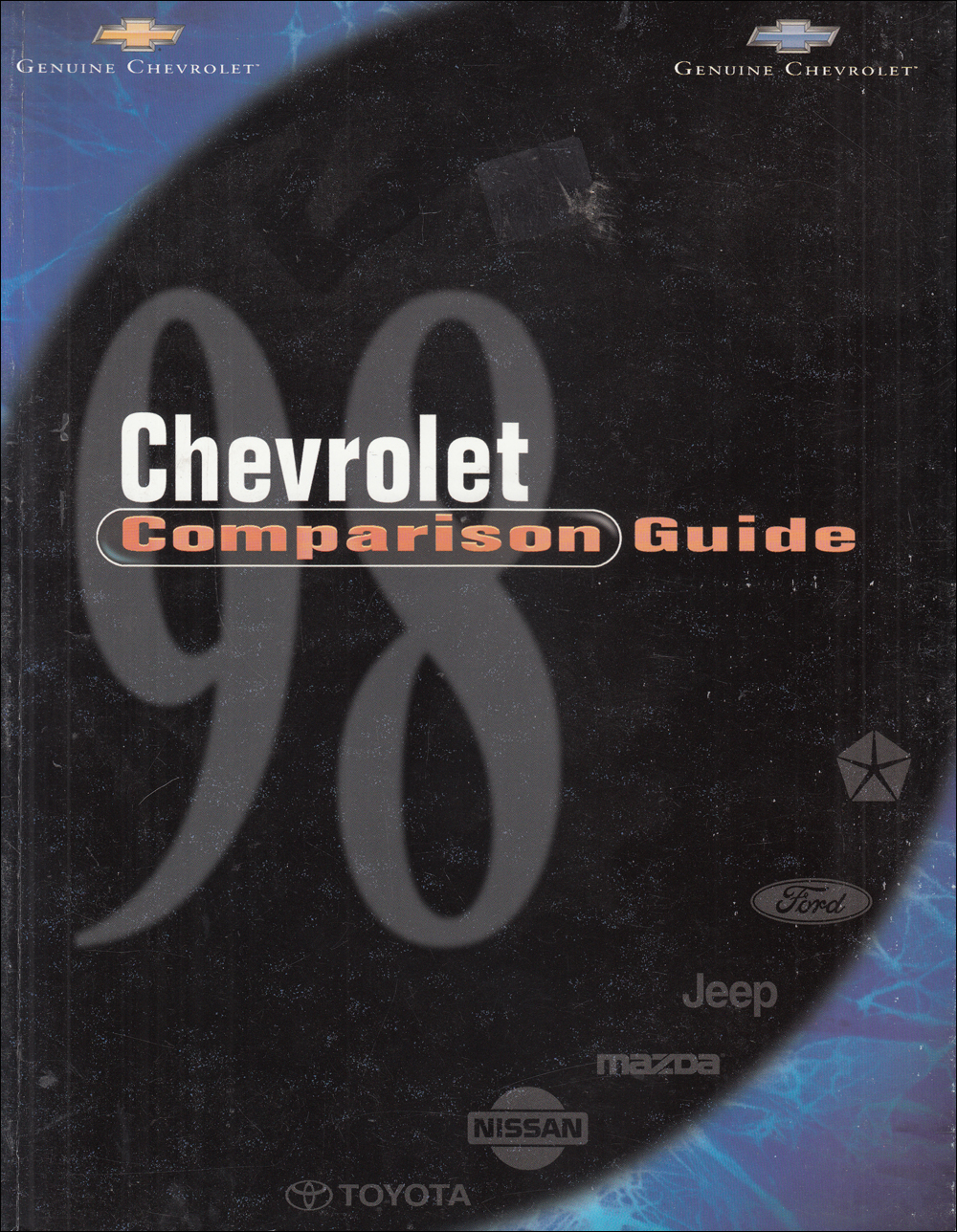 1998 Chevrolet Competitive Comparison Dealer Album Original