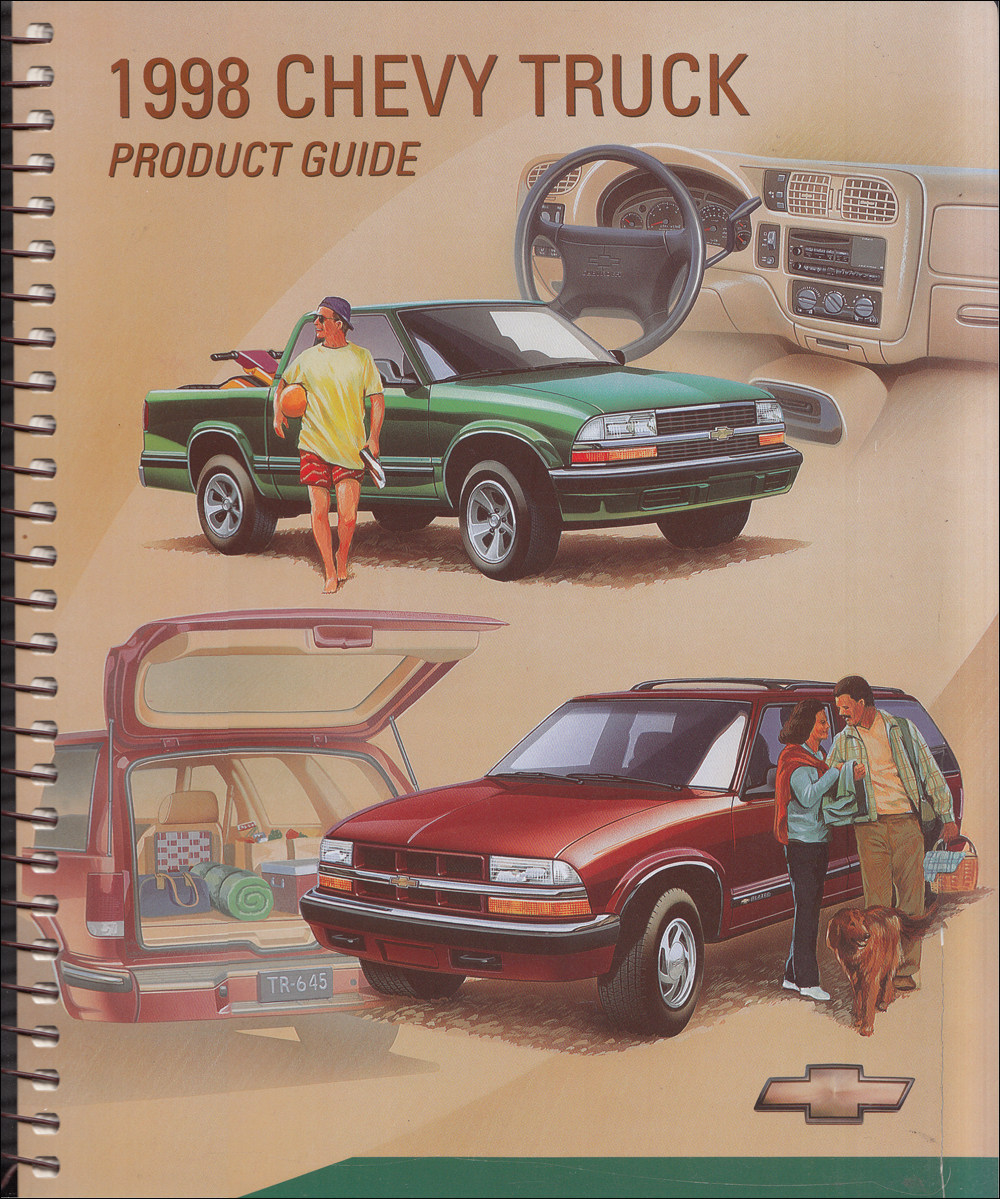 1998 Chevrolet Truck Data Book Dealer Album Original