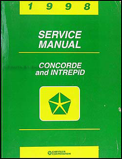 1998 Concorde & Intrepid Shop Manual Original