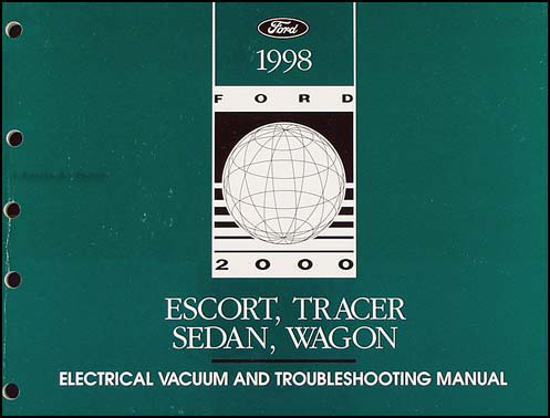 1998 Escort Sedan/Wagon plus Tracer Electrical Troubleshooting Manual