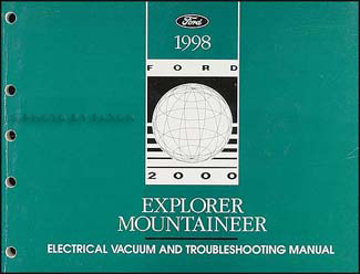 1998 Ford Explorer Mercury Mountaineer Electrical Troubleshooting Manual