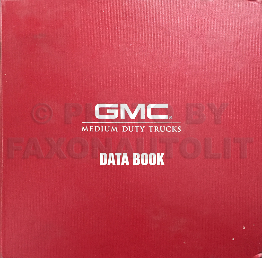 1998 GMC Medium Duty Data Book Original