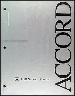 [SCHEMATICS_43NM]  1998-2002 Honda Accord Electrical Troubleshooting Manual Original | 98 Accord Wiring Diagram |  | Faxon Auto Literature