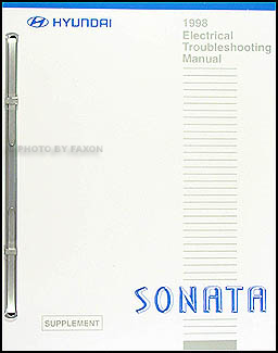 1998 Hyundai Sonata Electrical Troubleshooting Manual Original