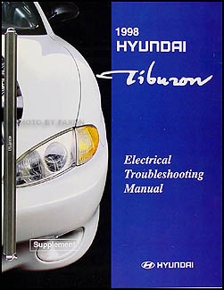 1998 Hyundai Tiburon Electrical Troubleshooting Manual Original