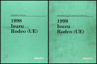 1998 Isuzu Rodeo & Honda Passport Repair Manual Set Original