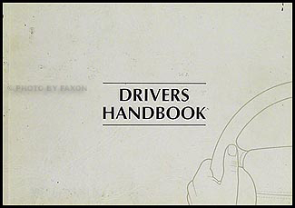 1994 Jaguar XJ6 and XJ12 Owner's Manual Original