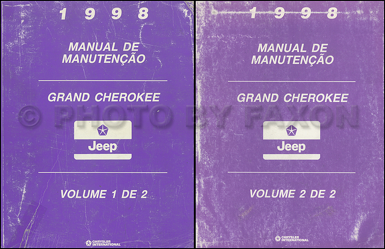 1998 Jeep Grand Cherokee Repair Manual Original