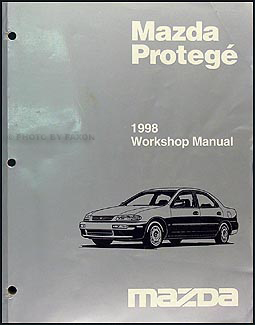 1998 Mazda Protege Repair Manual Original