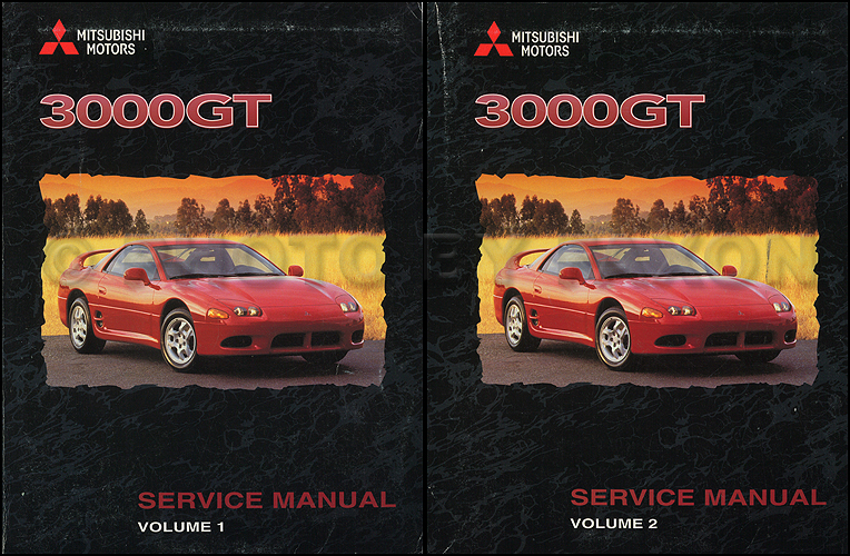 1998 Mitsubishi 3000GT Original Repair Shop Manual Set
