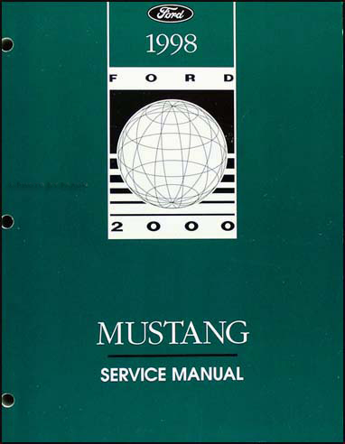1998 Ford Mustang Shop Manual Original