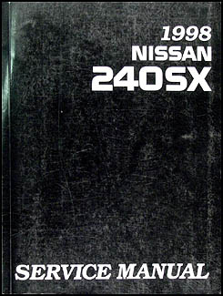 1998 Nissan 240SX Repair Manual Original
