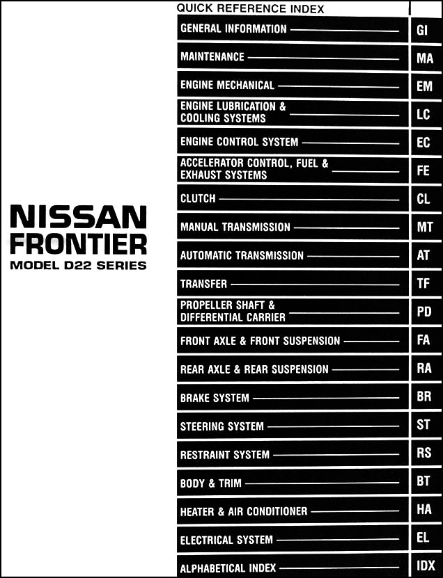 1998 nissan pickup wiring diagram all wiring diagram 1998 Nissan Frontier Wiring-Diagram Charging