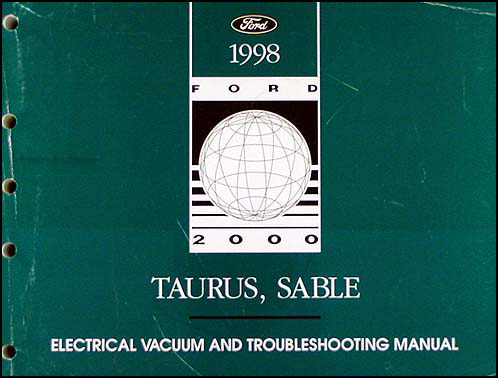 1998 Ford Taurus Mercury Sable Electrical Troubleshooting Manual