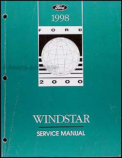 1998 Ford Windstar Repair Manual Original