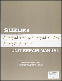 1999-2000 Suzuki Vitara & Grand Vitara Overhaul Manual Original