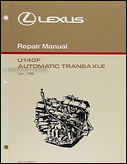 1999-2003 Lexus RX 300 4WD Automatic Transmission Overhaul Manual RX