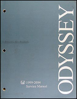1999-2004 Honda Odyssey Repair Manual Original
