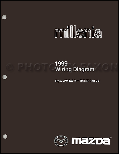 1999.5 Mazda Millenia Repair Manual Original