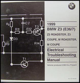 1999 BMW Z3 and M Roadster and Coupe Electrical Troubleshooting Manual