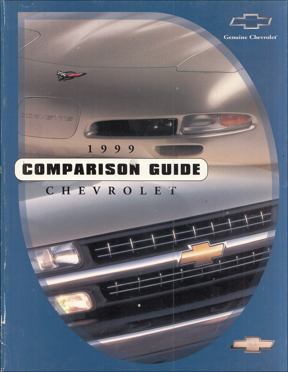 1999 Chevrolet Competitive Comparison Dealer Album Original