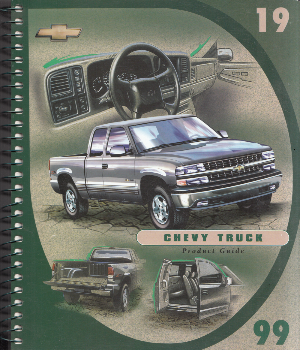 1999 Chevrolet Truck Data Book Dealer Album Original