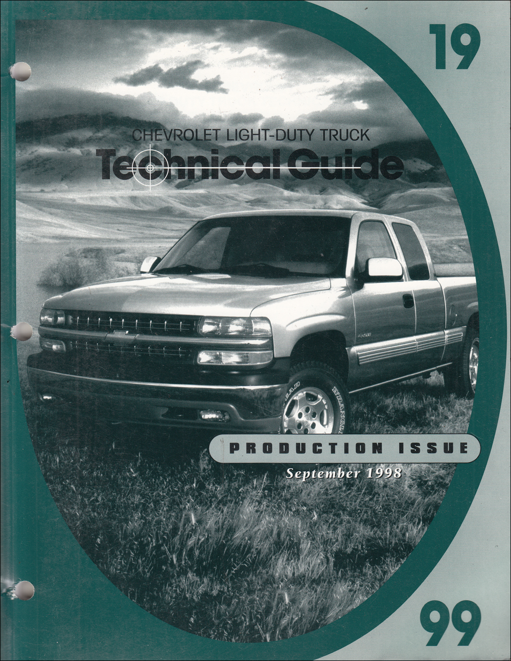 1999 Chevrolet Truck Technical Guide Dealer Album Original Production Issue