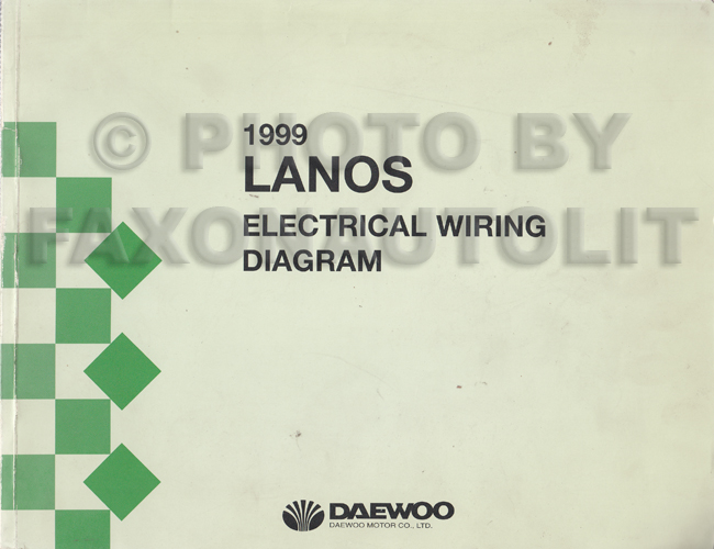 Daewoo Wiring Diagrams - All Diagram Schematics on