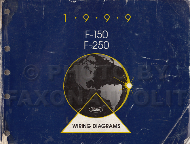 1999 Ford F-150 & F-250 Wiring Diagram Manual Original