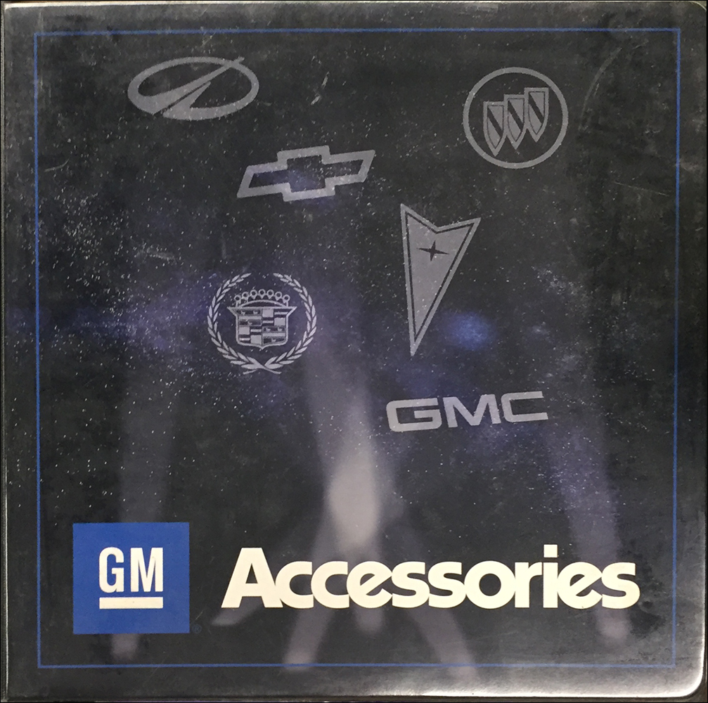 1998-1999 GM Accessories Dealer Album Original