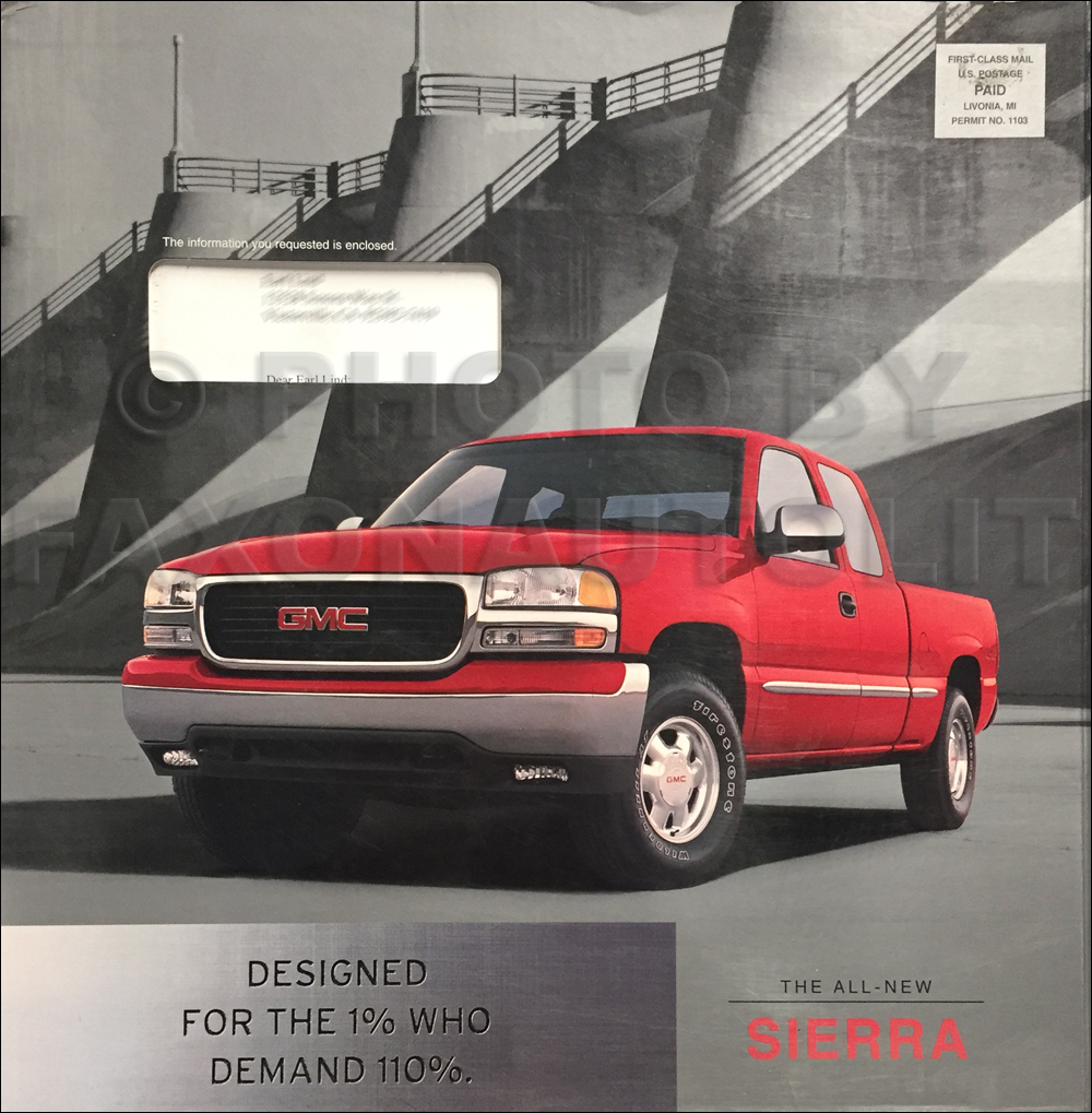 1999 GMC Sierra Sales Catalog With VHS in Original Box
