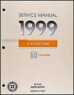 1999 Cavalier Bi-Fuel (CNG) Repair Manual Original Supplement