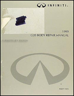 1999-2002 Infiniti G20 Body Repair Manual Original