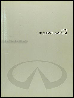 1999 Infiniti I30 Repair Manual Original