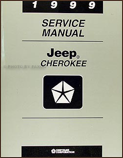 1999 Jeep Cherokee Repair Manual Original