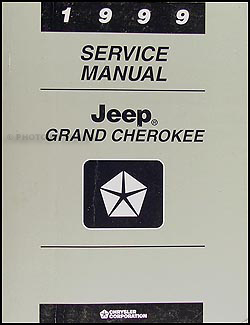 1999 Jeep Grand Cherokee Repair Manual Original