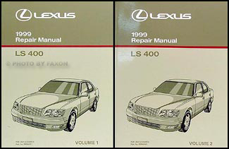 1999 Lexus LS 400 Repair Manual Original 2 Volume Set