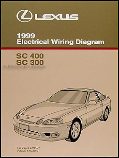 1999 Lexus SC 300/400 Wiring Diagram Manual