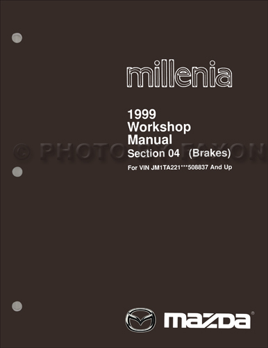 2000 Mazda Millenia Repair Manual Original