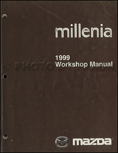 1998 Mazda Millenia Repair Manual Original