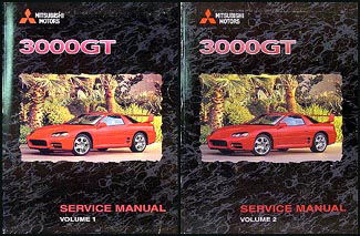 1999 Mitsubishi 3000GT Original Repair Shop Manual Set