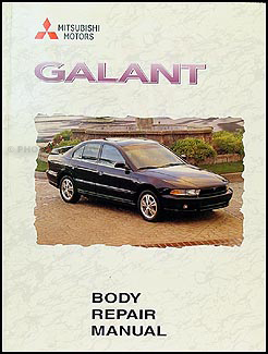 1999-2003 Mitsubishi Galant Body Manual Original