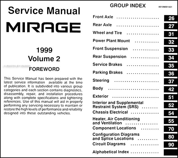 1999 mitsubishi mirage wiring diagram  trusted wiring