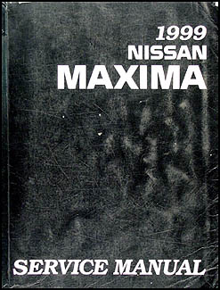 1999 Nissan Maxima Repair Manual Original