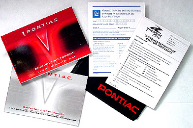 1999 Pontiac Grand Am Owner's Manual Original