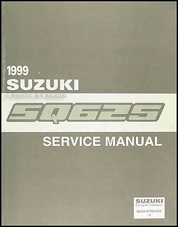 1999 Suzuki Grand Vitara Repair Manual Original