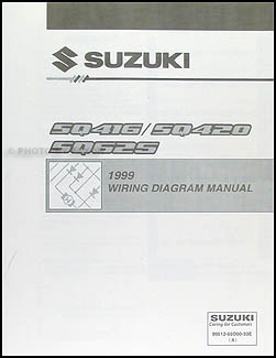 1999 Suzuki Vitara & Grand Vitara Wiring Diagram Original