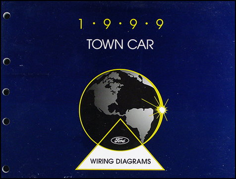 1999 Lincoln Town Car Original Wiring Diagrams | 99 Lincoln Town Car Wiring Diagrams |  | Faxon Auto Literature