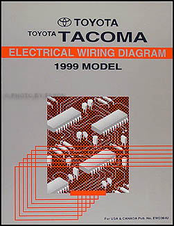 1999 toyota tacoma pickup wiring diagram manual original 99 S10 Wiring Diagram